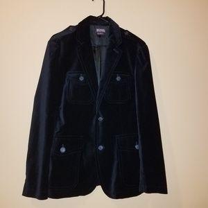 Michael Kors Black Velvet Blazer